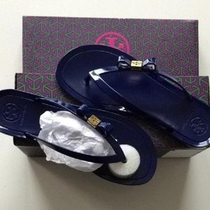 NEW Tory Burch Michaela bow jellies
